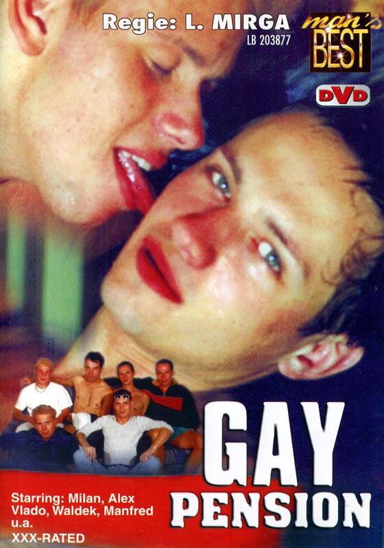 Gay Pension DVD - Front