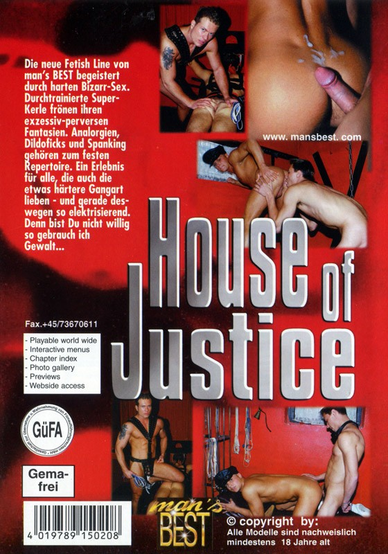 House Of Justice DVD - Back