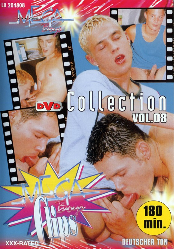 Mega Clips Collection 8 DVD - Front