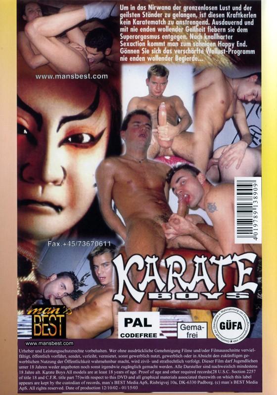 Karate Boys DVD - Back