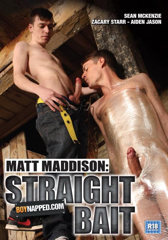 Boynapped 33: Matt Maddison: Straight Bait DVD - Front
