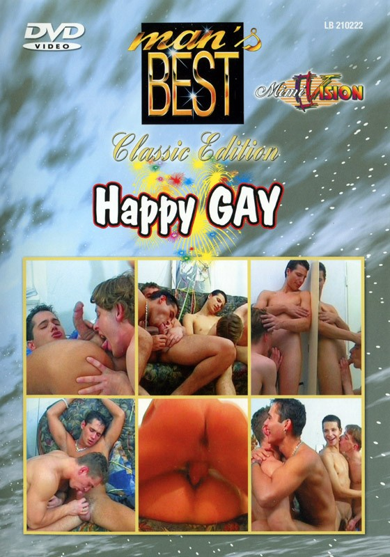 Happy Gay DVD - Front