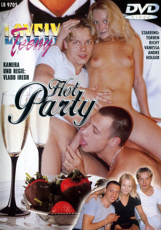Hot Party DVD - Front