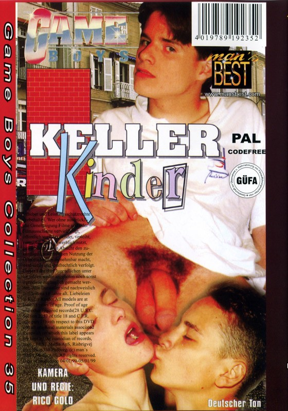 Game Boys Collection 35 - Liebeleien + Keller Kinder DVD - Back