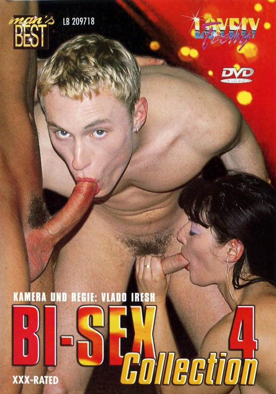 Bi-Sex Collection 4 DVD - Front