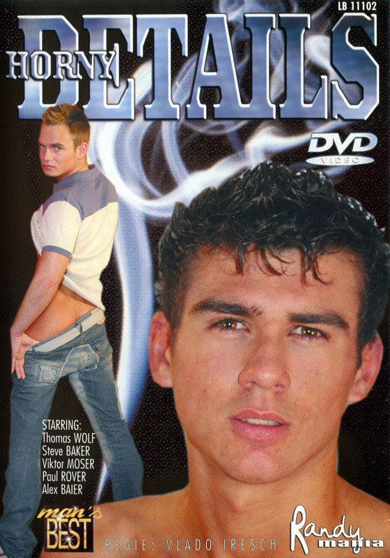 Horny Details DVD - Front