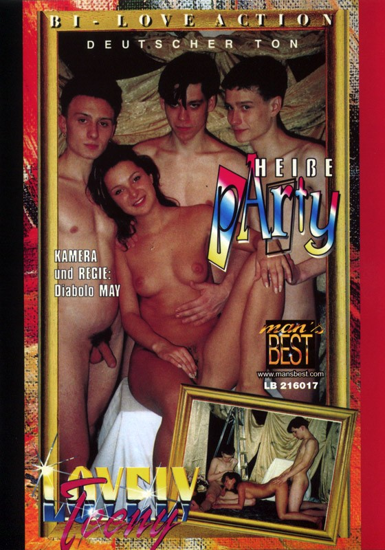 Heisse Party DVD - Front