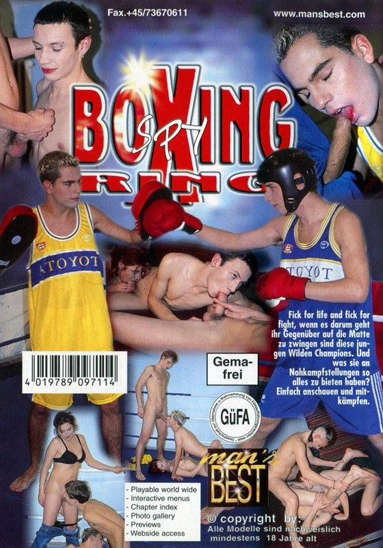 Boxing Ring Spy DVD - Back