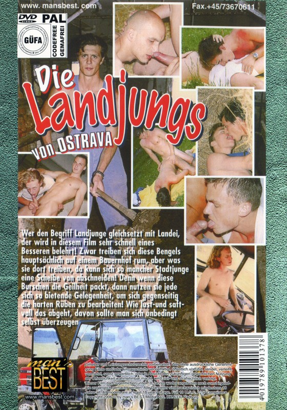 Die Landjungs von Ostrava DVD - Back