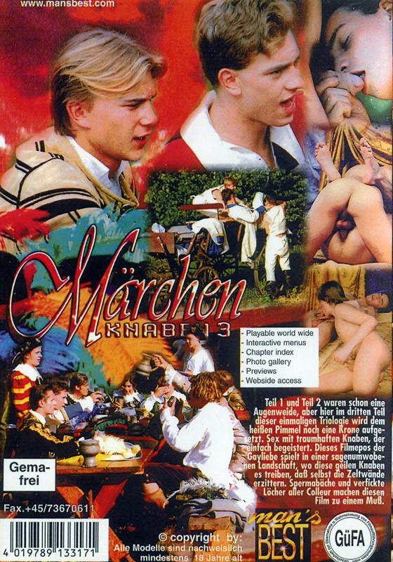 Märchenknaben 3 DVD - Back
