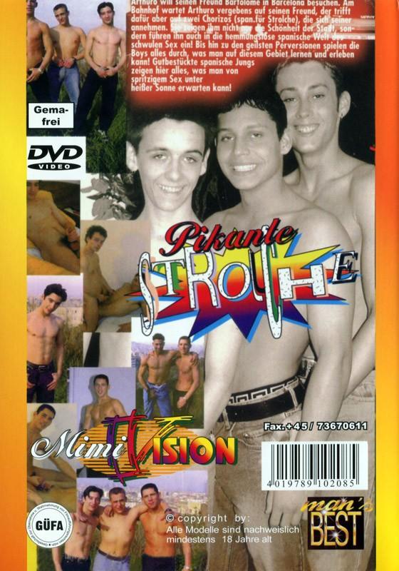 Pikante Strolche DVD - Back