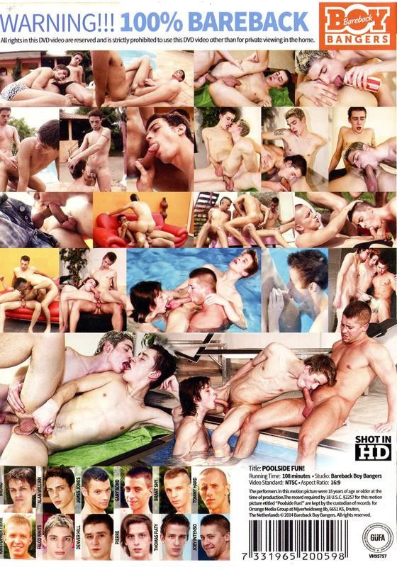 Poolside Fun DVD - Back