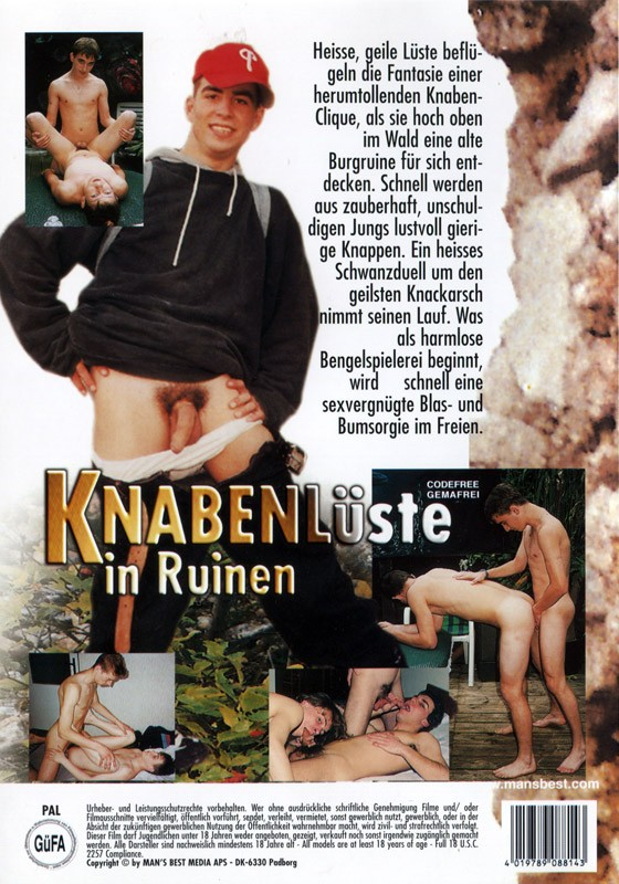 Knabenluste in Ruinen DVD - Back