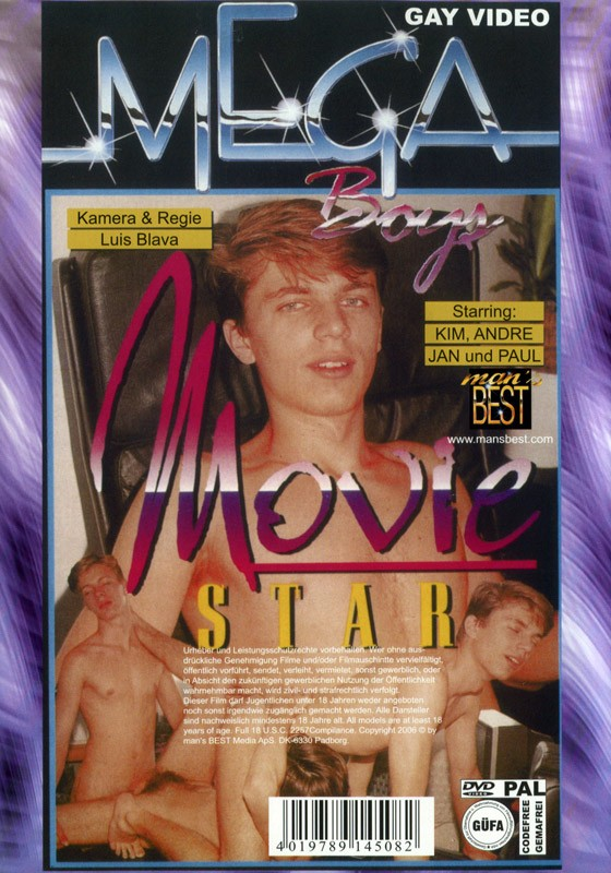 Movie Star und Porno Freunde DVD - Back