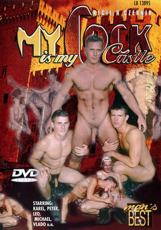 My Cock Is My Castle DVD - Front