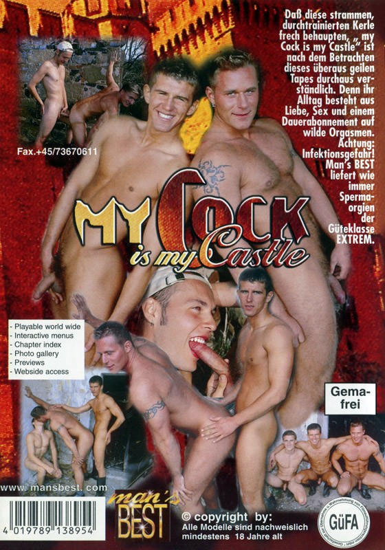 My Cock Is My Castle DVD - Back