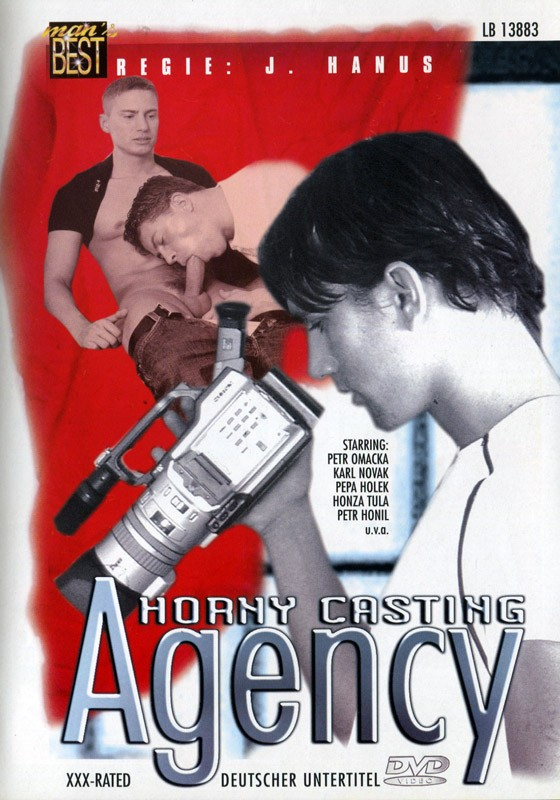 Horny Casting Agency DVD - Front