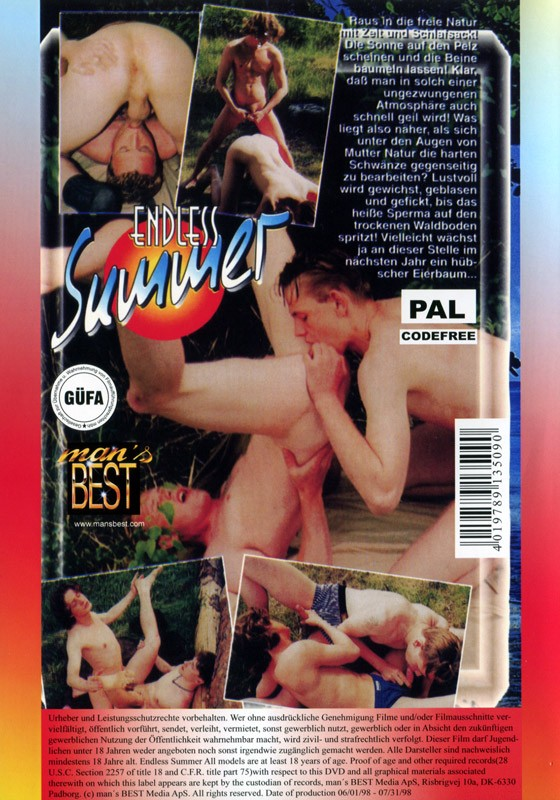 Endless Summer (Mans Best) DVD (NC) - Back