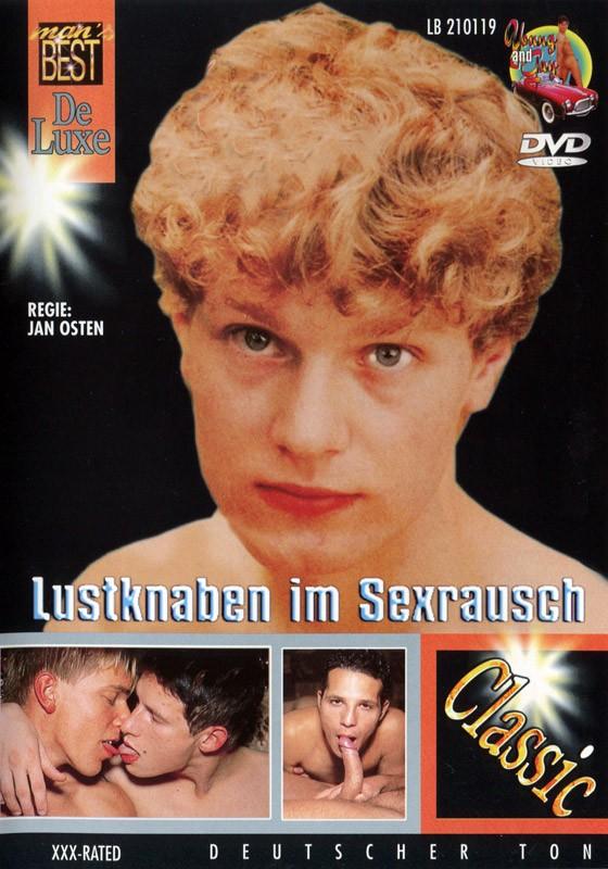 Lustknaben Im Sexrausch DVD - Front