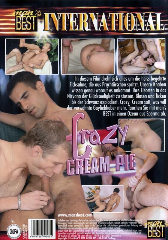 Crazy Cream Pie DVD - Back