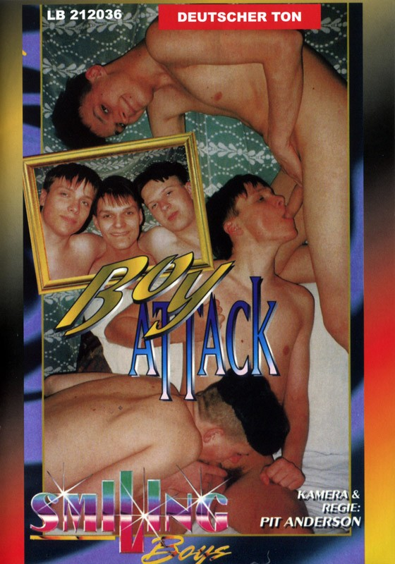 Boy Attack DVD - Front