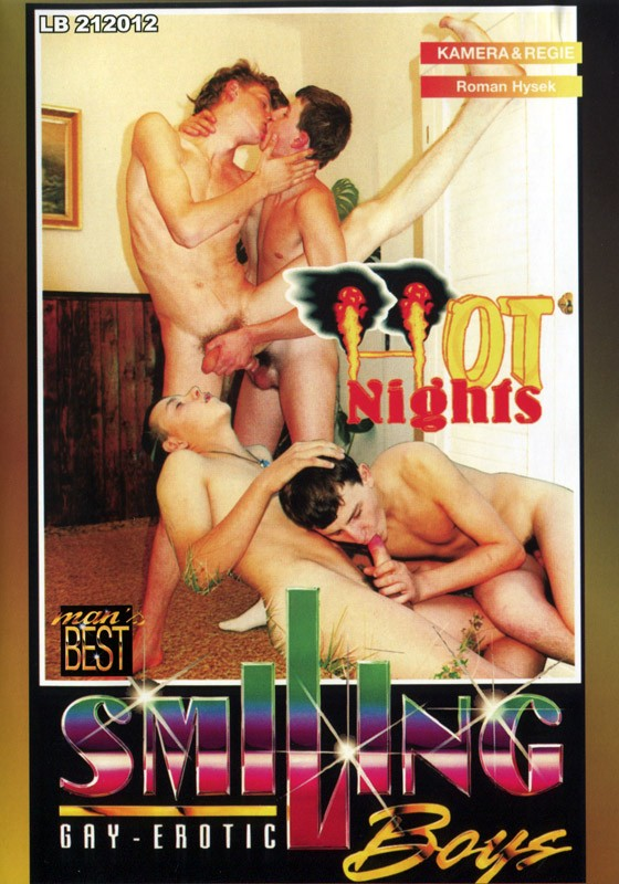 Hot Nights DVD - Front