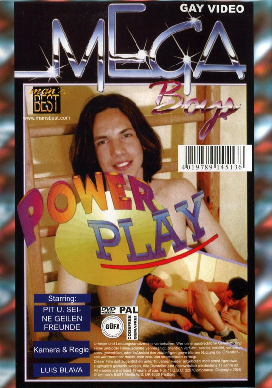 Power Play & Lustbolzen DVD - Back