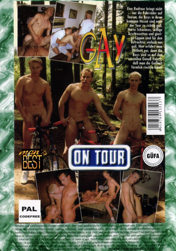 Gay On Tour DVD - Back