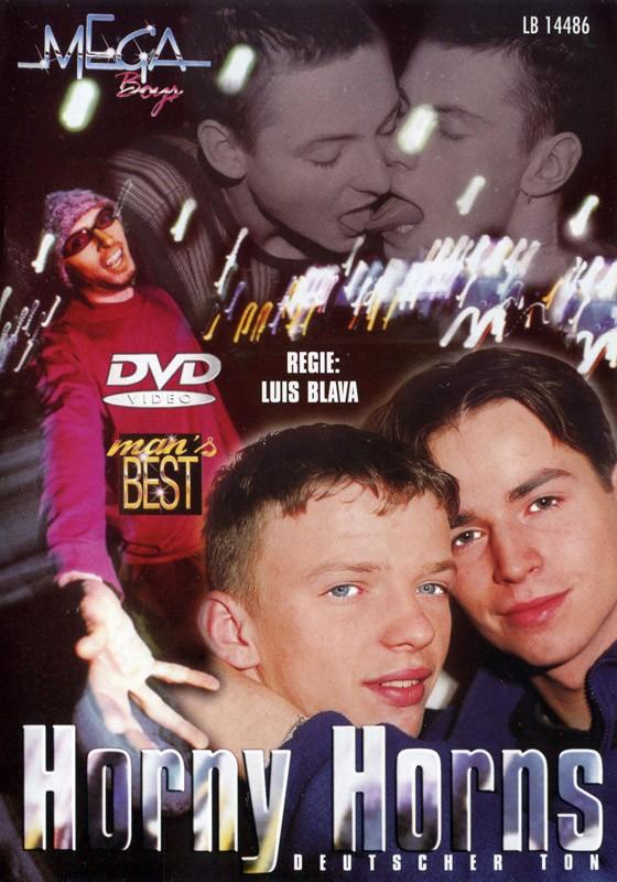 Horny Horns DVD - Front