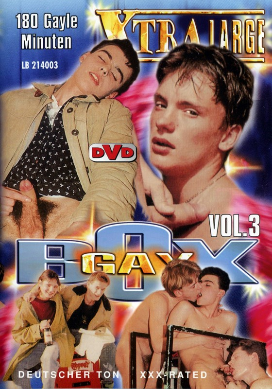 Gay Box 3 DVD - Front