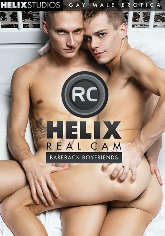 Helix Real Cam - Bareback Boyfriends DVD - Front