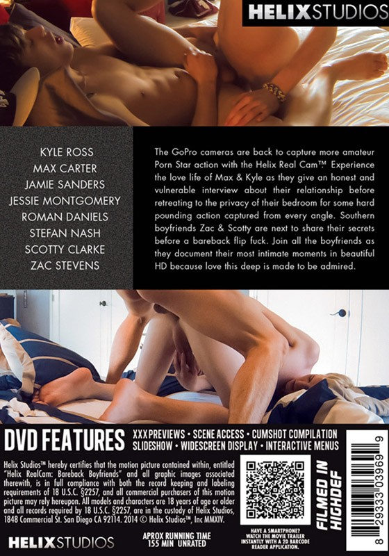 Helix Real Cam - Bareback Boyfriends DVD - Back