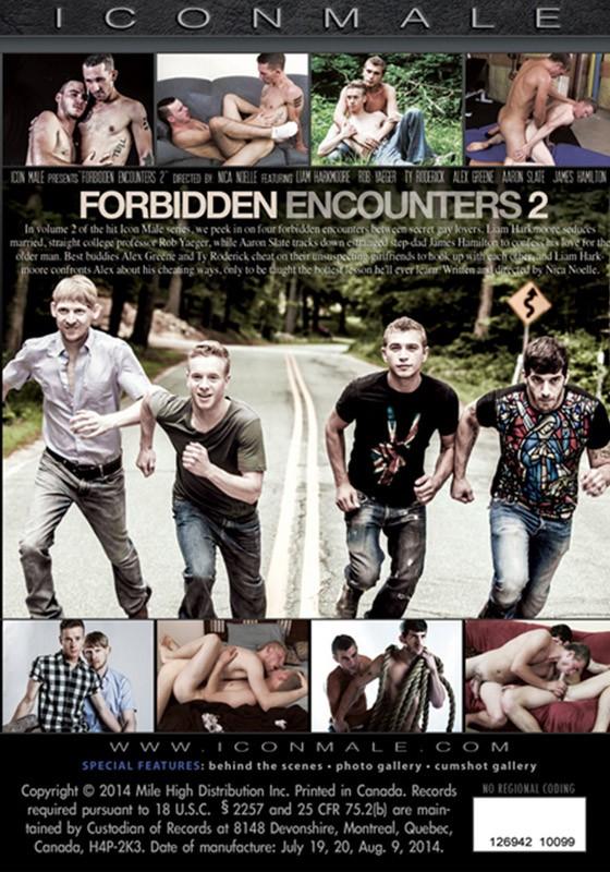 Forbidden Encounters 2 DVD - Back