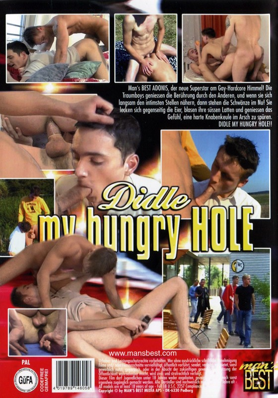 Didle My Hungry Hole DVD - Back