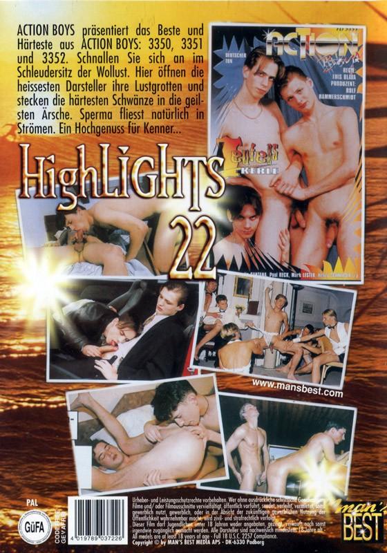 Highlights 22 DVD - Back