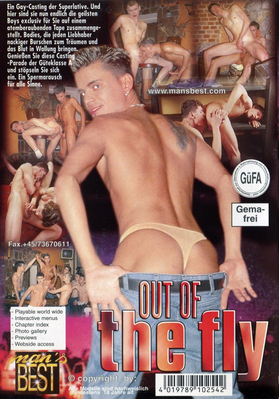Out Of The Fly DVD - Back