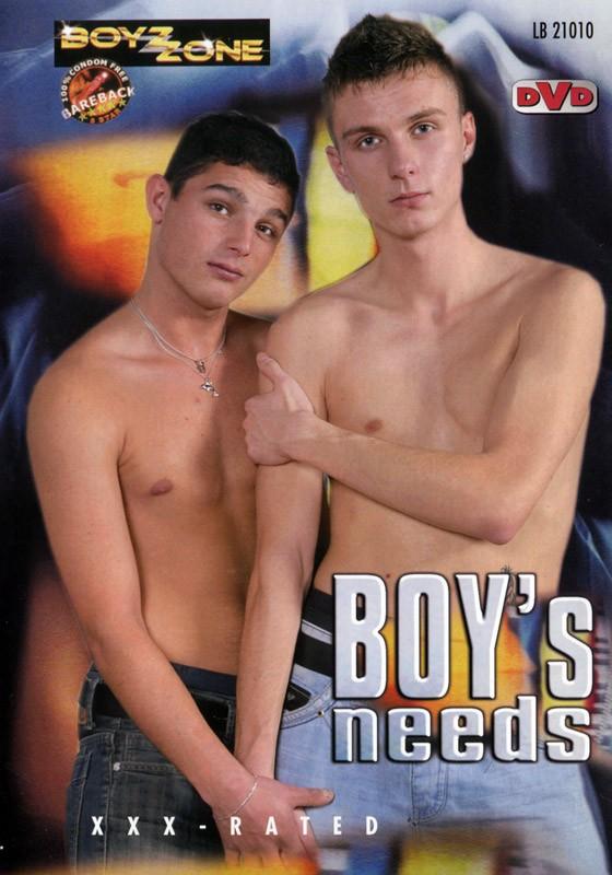 Boys Needs DVD - Front