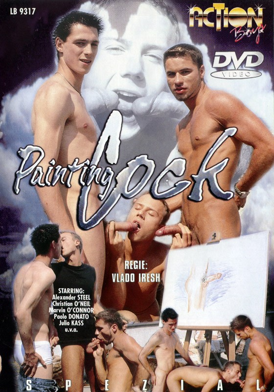 Painting Cock DVD - Front