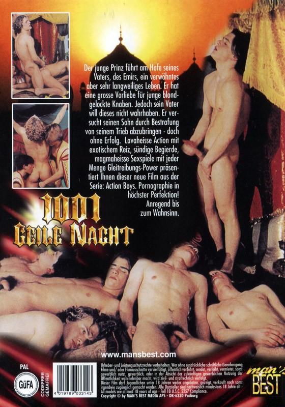 1001 Geile Nacht DVD - Back