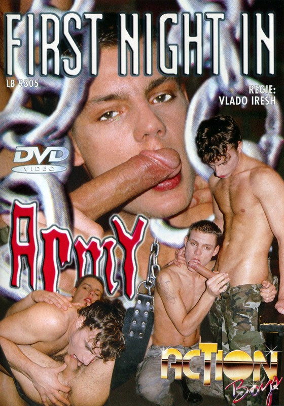 First Night In Army DVD - Front