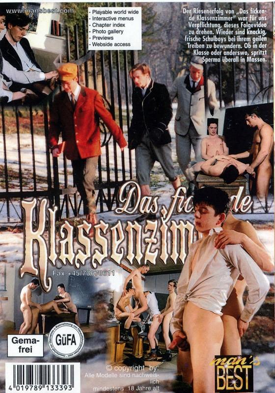Das Fickende Klassenzimmer  2 DVD - Back