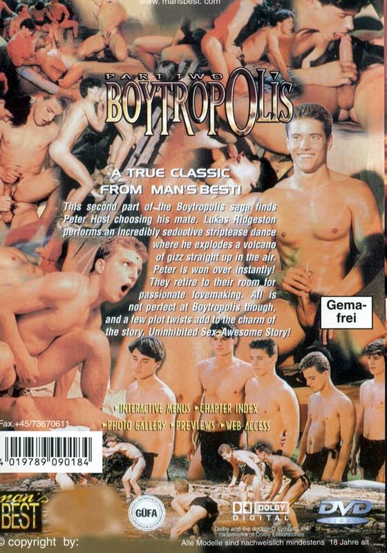 Boytropolis part 2 DVD - Back