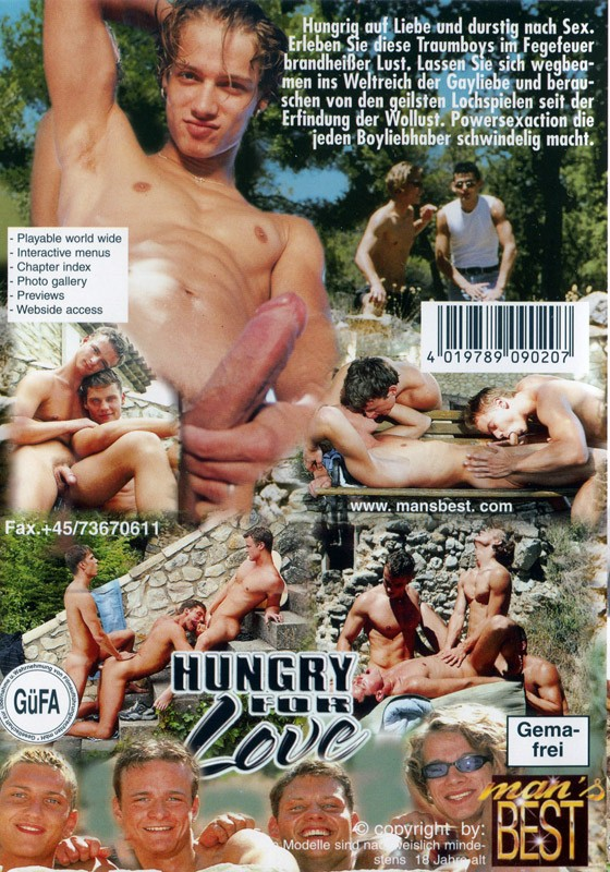 Hungry For Love 01 (Mans Best) DVD - Back