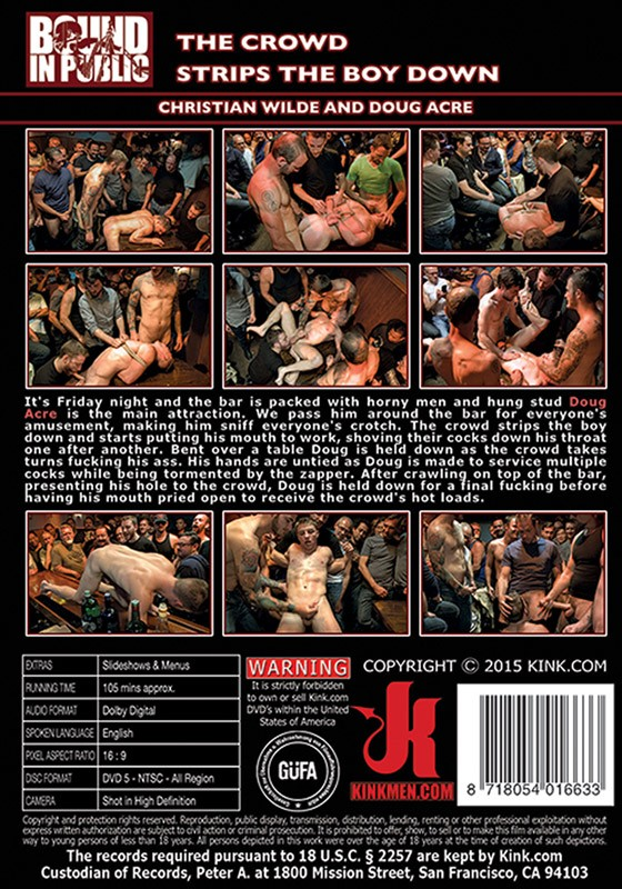 Bound In Public 74 DVD (S) - Back