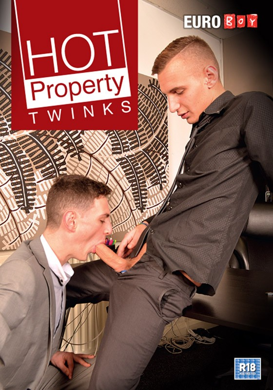 Hot Property Twinks DVD - Front