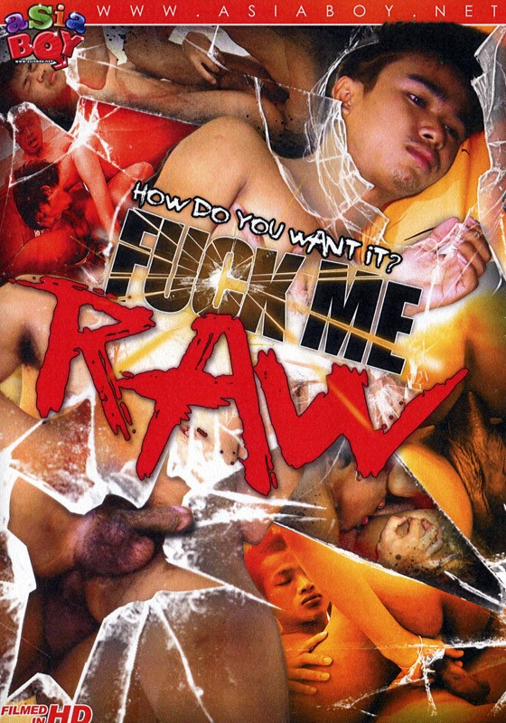 Fuck Me Raw (Asia Boy) DVD - Front