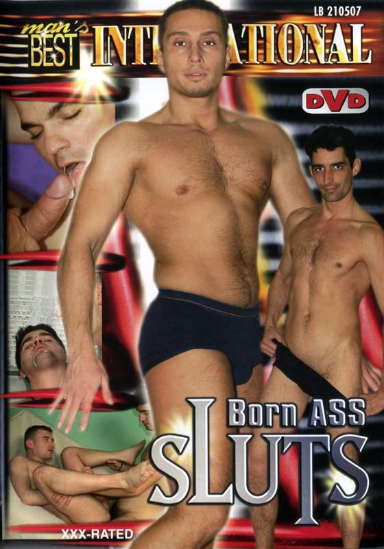 Born Ass Sluts DVD - Front