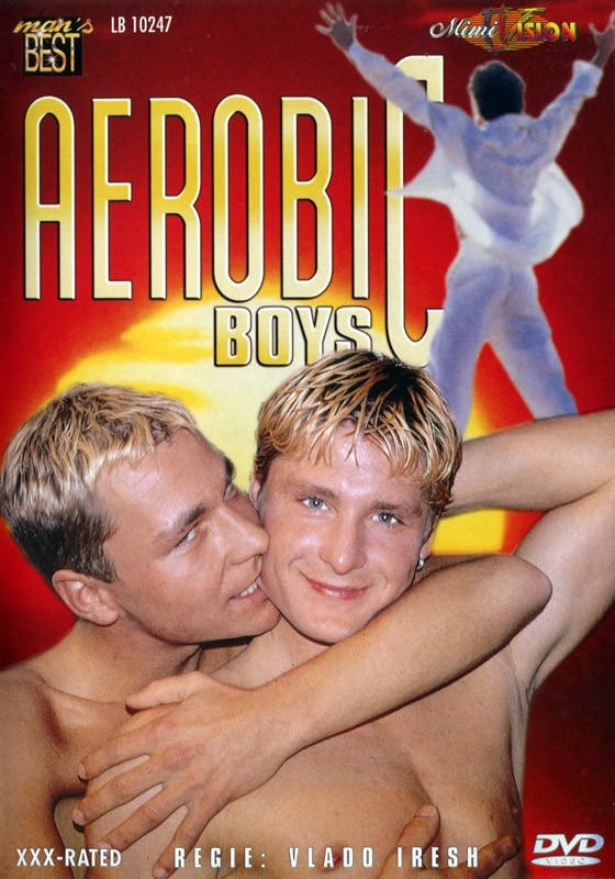 Aerobic Boys DVD - Front