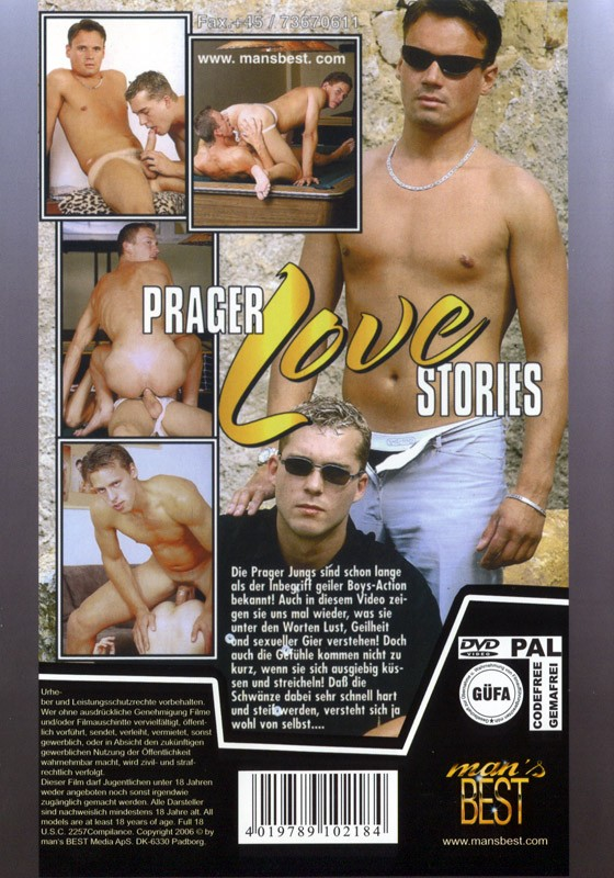 Prager Love Stories DVD - Back