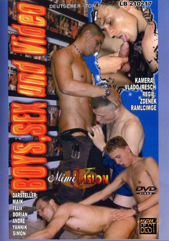 Boys, Sex Und Video DVD - Front